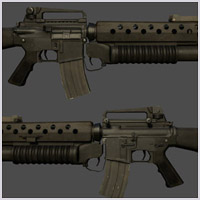 M16 Assault Rifle - see my portfolio for more images.